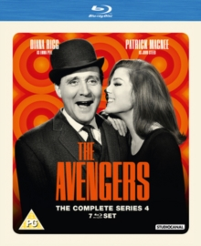 The Avengers: The Complete Series 4, Blu-ray