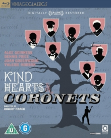 Kind Hearts and Coronets, Blu-ray  BluRay