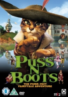 Puss N Boots (English Version), DVD