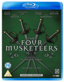 The Four Musketeers, Blu-ray