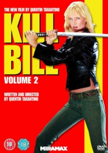 Kill Bill: Volume 2, DVD