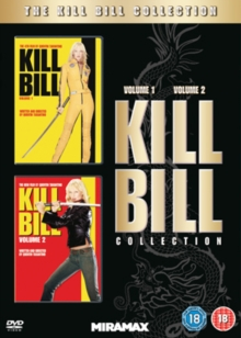 Kill Bill: Volumes 1 and 2, DVD  DVD