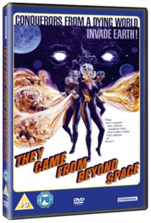 They Came from Beyond Space, DVD