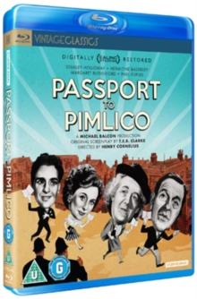 Passport to Pimlico, Blu-ray