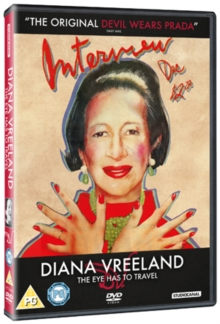 Diana Vreeland: The Eye Has to Travel, DVD