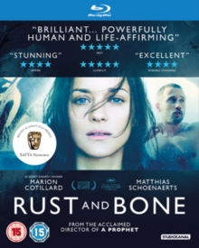 Rust and Bone, Blu-ray