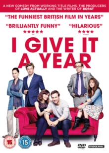 I Give It a Year, DVD  DVD