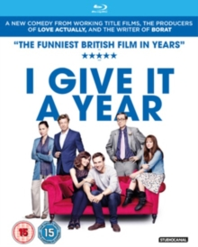 I Give It a Year, Blu-ray