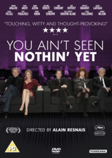 You Ain't Seen Nothin' Yet, DVD