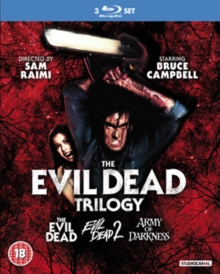 The Evil Dead Trilogy, Blu-ray