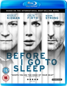 Before I Go to Sleep, Blu-ray