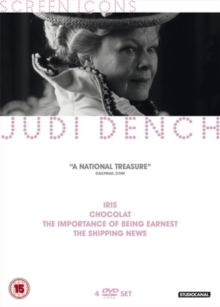 Screen Icons: Judi Dench, DVD