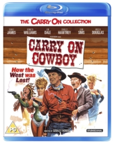 Carry On Cowboy, Blu-ray