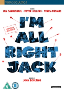I'm All Right Jack, DVD