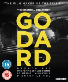 Godard: The Essential Collection, Blu-ray  BluRay