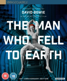 The Man Who Fell to Earth, Blu-ray BluRay
