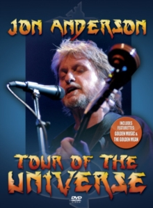 Jon Anderson: Tour of the Universe, DVD  DVD