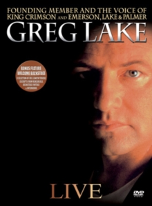 Greg Lake: Live in Concert, DVD