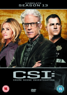 CSI - Crime Scene Investigation: The Complete Season 13, DVD
