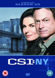 CSI New York: Complete Season 9, DVD