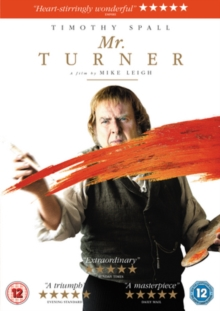 Mr. Turner, DVD