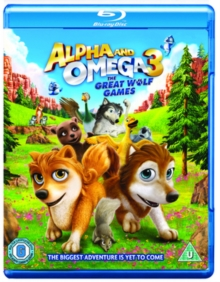 Alpha and Omega 3 - The Great Wolf Games, Blu-ray