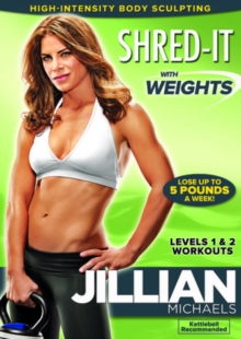 Jillian Michaels: Shred It With Weights, DVD