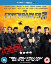 The Expendables 3: Extended Edition, Blu-ray