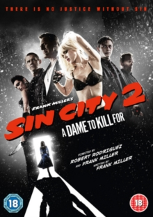 Sin City 2 - A Dame to Kill For, DVD