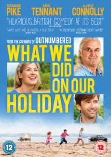 What We Did On Our Holiday, DVD  DVD