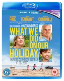 What We Did On Our Holiday, Blu-ray