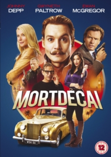 Mortdecai, DVD  DVD