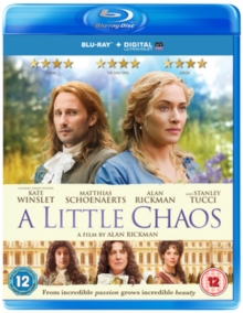 A   Little Chaos, Blu-ray