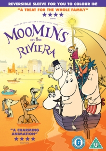 Moomins On the Riviera, DVD