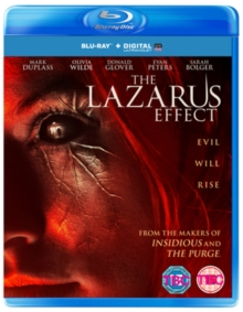 The Lazarus Effect, Blu-ray