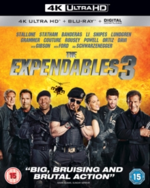 The Expendables 3, Blu-ray
