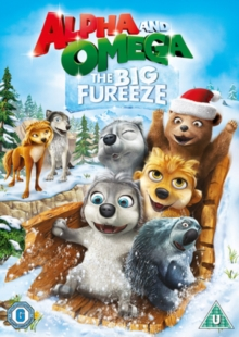 Alpha and Omega: The Big Fureeze, DVD DVD