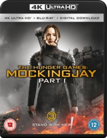 The Hunger Games: Mockingjay - Part 1, Blu-ray