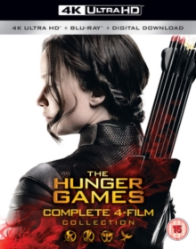 The Hunger Games: Complete 4-film Collection, Blu-ray BluRay