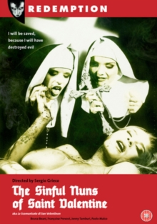 The Sinful Nuns of St. Valentine, DVD DVD
