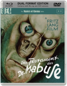 The Testament of Dr Mabuse - The Masters of Cinema Series, Blu-ray
