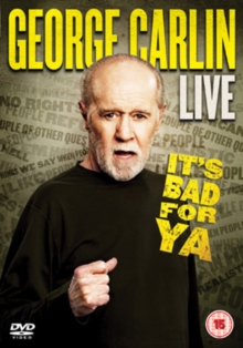 George Carlin: It's Bad for Ya, DVD  DVD