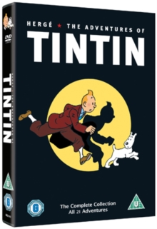 The Adventures of Tintin: Complete Collection, DVD