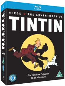 The Adventures of Tintin: Complete Collection, Blu-ray