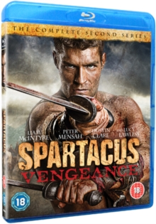 Spartacus - Vengeance, Blu-ray