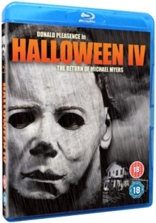Halloween 4 - The Return of Michael Myers, Blu-ray