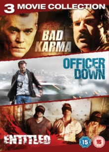 Bad Karma/The Entitled/Officer Down, DVD