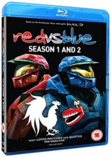 Red Vs. Blue: Season 1 and 2, Blu-ray