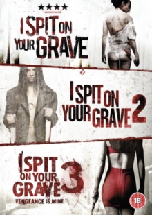 I Spit On Your Grave/I Spit On Your Grave 2/I Spit On Your Grave3, DVD