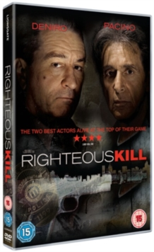 Righteous Kill, DVD
